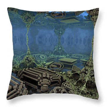 Parallel World 5 Throw Pillow