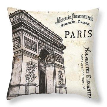Paris Ooh La La 2 Throw Pillow