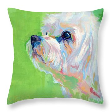 Parker Throw Pillow by Kimberly Santini