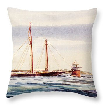 Passing Bug Light Throw Pillow