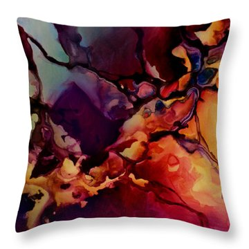 Passion Throw Pillow by Michael Lang