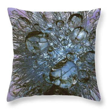 Pastel Prisms Throw Pillow