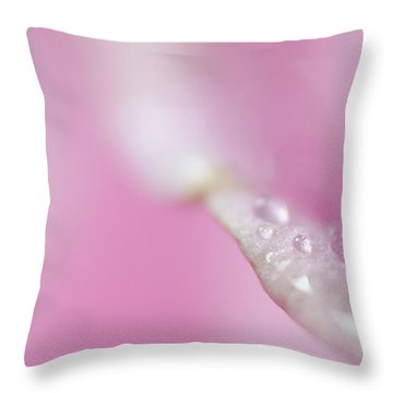 Patiently Waiting Throw Pillow