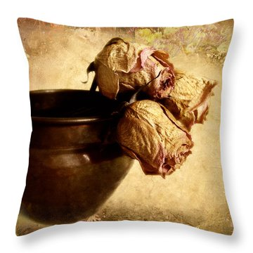 Patina Throw Pillow by Jessica Jenney