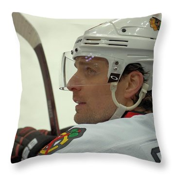 Patrick Sharp Throw Pillow