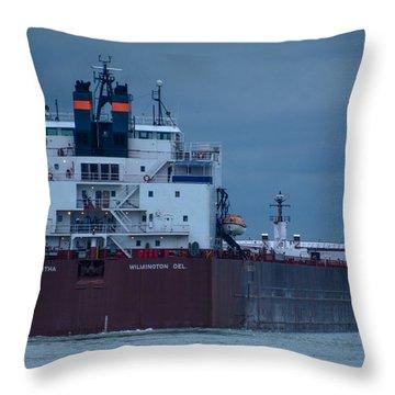 Paul R. Tregurtha Throw Pillow