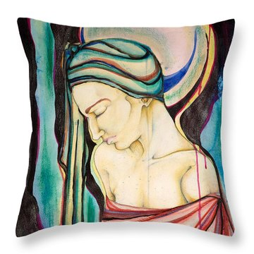 Peace Beneath The City Throw Pillow