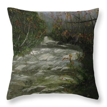 Peavine Creek Throw Pillow