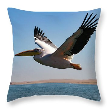 Pelican Throw Pillows