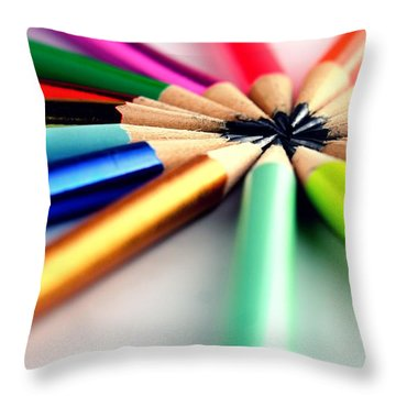 Pencil Throw Pillows