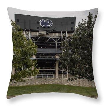 Penn State Beaver Stadium  Throw Pillow