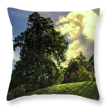 Petworth House Throw Pillow