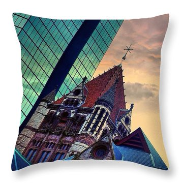 Photoshopping Throwback Thursday - Throw Pillow