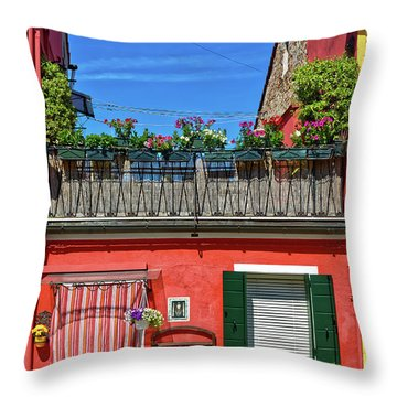 Do Not Forget To Water The Plants Throw Pillow