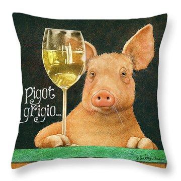 Pigot Grigio... Throw Pillow