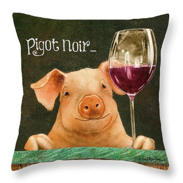 Pigot Noir... Throw Pillow