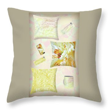 Throw Pillow featuring the photograph Pinterest by Nareeta Martin