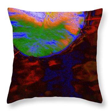 Placid Throw Pillow by Priscilla Richardson