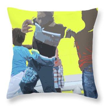 Play Throw Pillow by Ian  MacDonald
