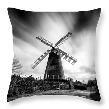 Polegate Windmill Throw Pillow