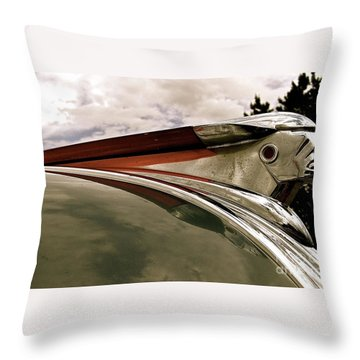 Pontiac Ornament  Throw Pillow