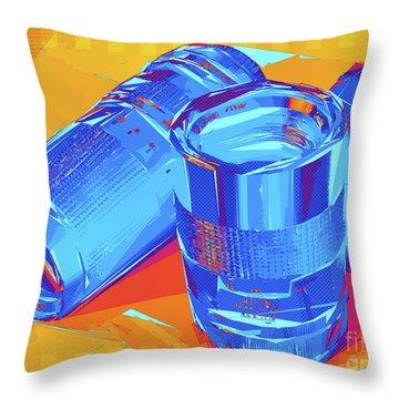 Pop Art Camera Lenses Throw Pillow