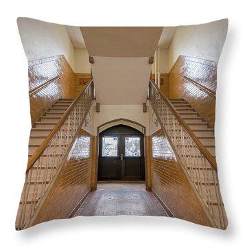 Port Washington High School 34 Throw Pillow