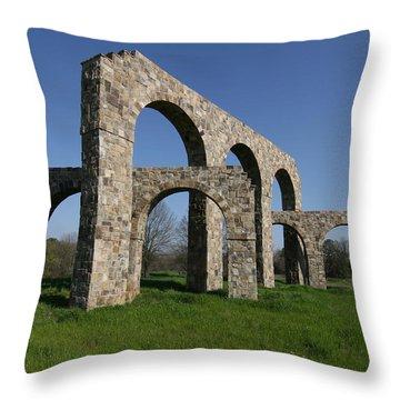 Porto Futurus Throw Pillow
