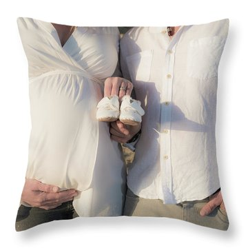 Powell Maternity Throw Pillow