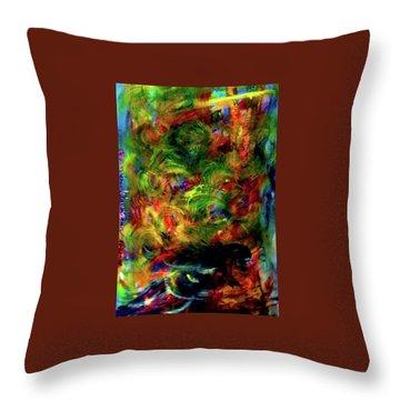 Power Of  Colour Throw Pillow