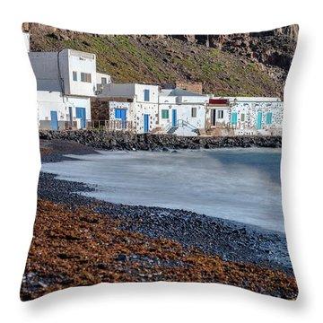Pozo Negro - Fuerteventura Throw Pillow
