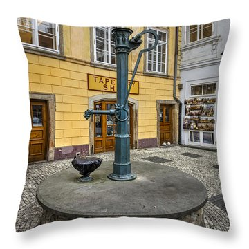 Czech Republic Throw Pillows