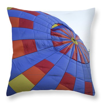 Preparing For Lift Off Throw Pillow