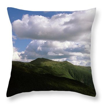 Presidential Range - White Mountains New Hampshire Usa Throw Pillow