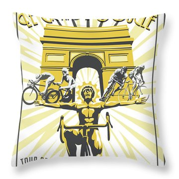 Print Throw Pillow