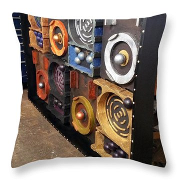 Throw Pillow featuring the painting Prodigy  by James Lanigan Thompson MFA
