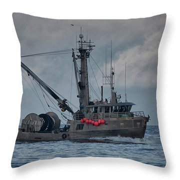 Throw Pillow featuring the photograph Prosperity by Randy Hall
