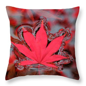 Proud Symbol Throw Pillow