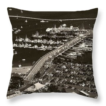 Provincetown  Throw Pillow by Raymond Earley