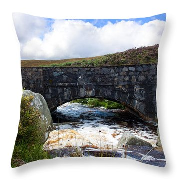 Ps I Love You Bridge In Ireland Throw Pillow by Semmick Photo