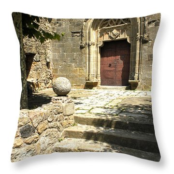 Throw Pillow featuring the photograph Pubol Spain by Gregory Dyer
