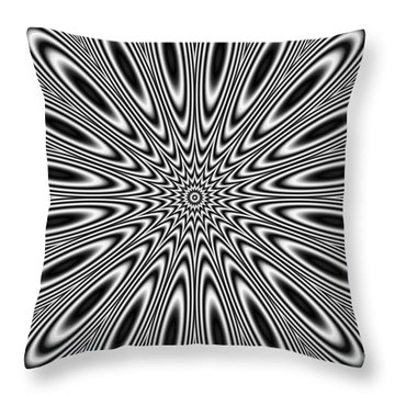 Pulsar Throw Pillow
