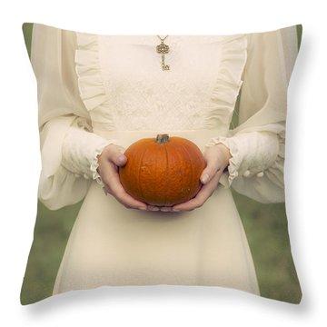 Pumpkin Throw Pillow by Joana Kruse