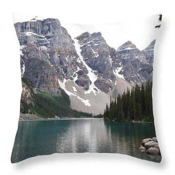 Throw Pillow featuring the photograph Quiet Waters by Al Fritz