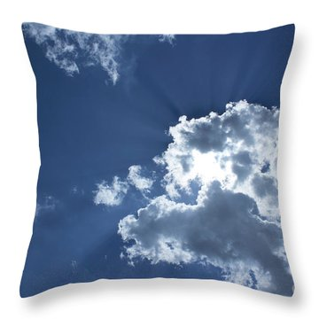 Throw Pillow featuring the photograph Radiance by Megan Dirsa-DuBois