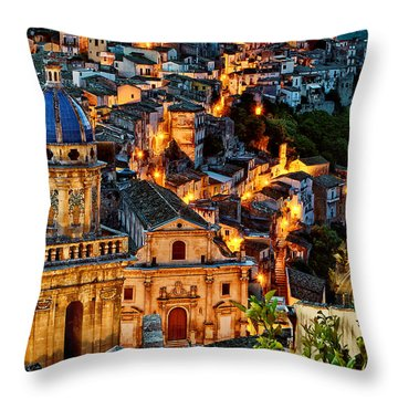 Ragusa Ilba Throw Pillow by Robert Charity