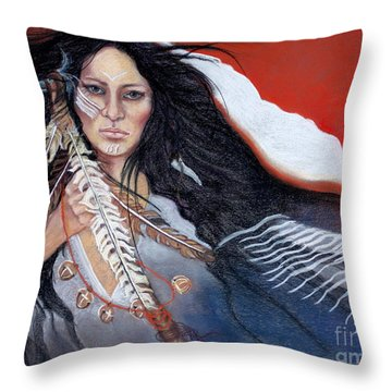 Rainmaker Throw Pillow