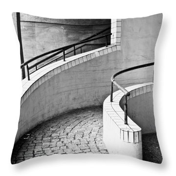 Ramp Entrance Throw Pillow