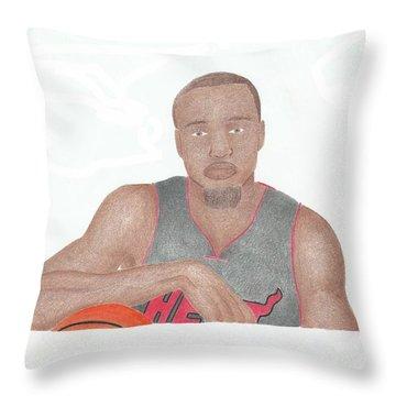 Rashard Lewis  Throw Pillow by Toni Jaso