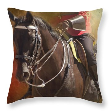 Partners Throw Pillow